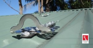 Froglink - Anchor point safety Central Coast Gutter Cleaning - Installation to Colorbond roof