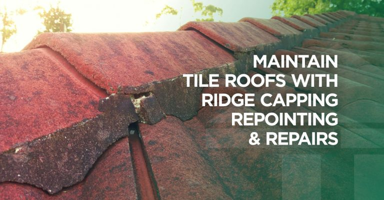 Central Coast Gutter Cleaning-Ridge Capping Repointing Service